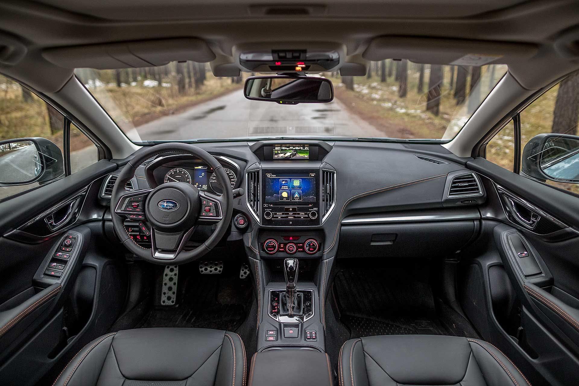Interni della Subaru XV