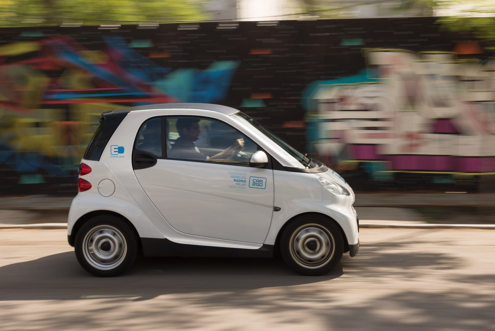 Smart legata al servizio di Car2Go