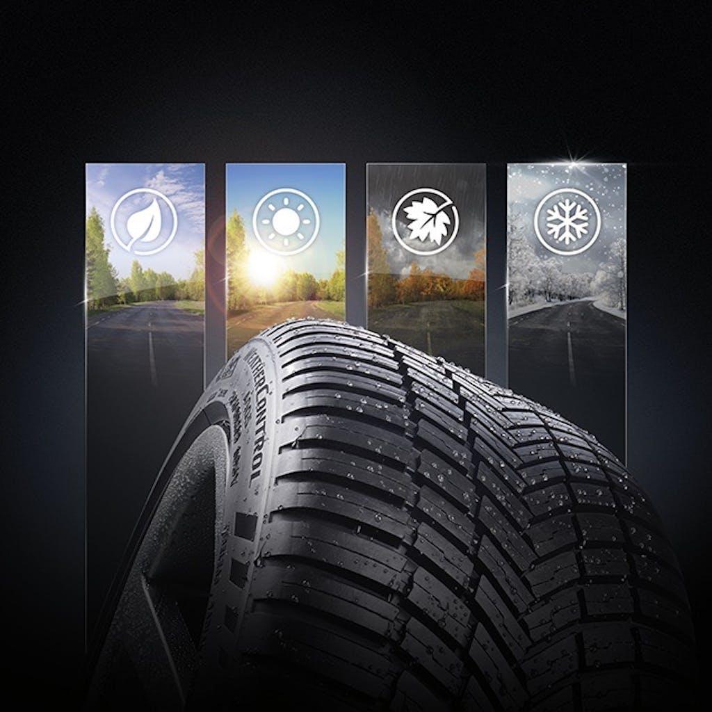 Weather Control A005, le prime 4 stagioni di Bridgestone