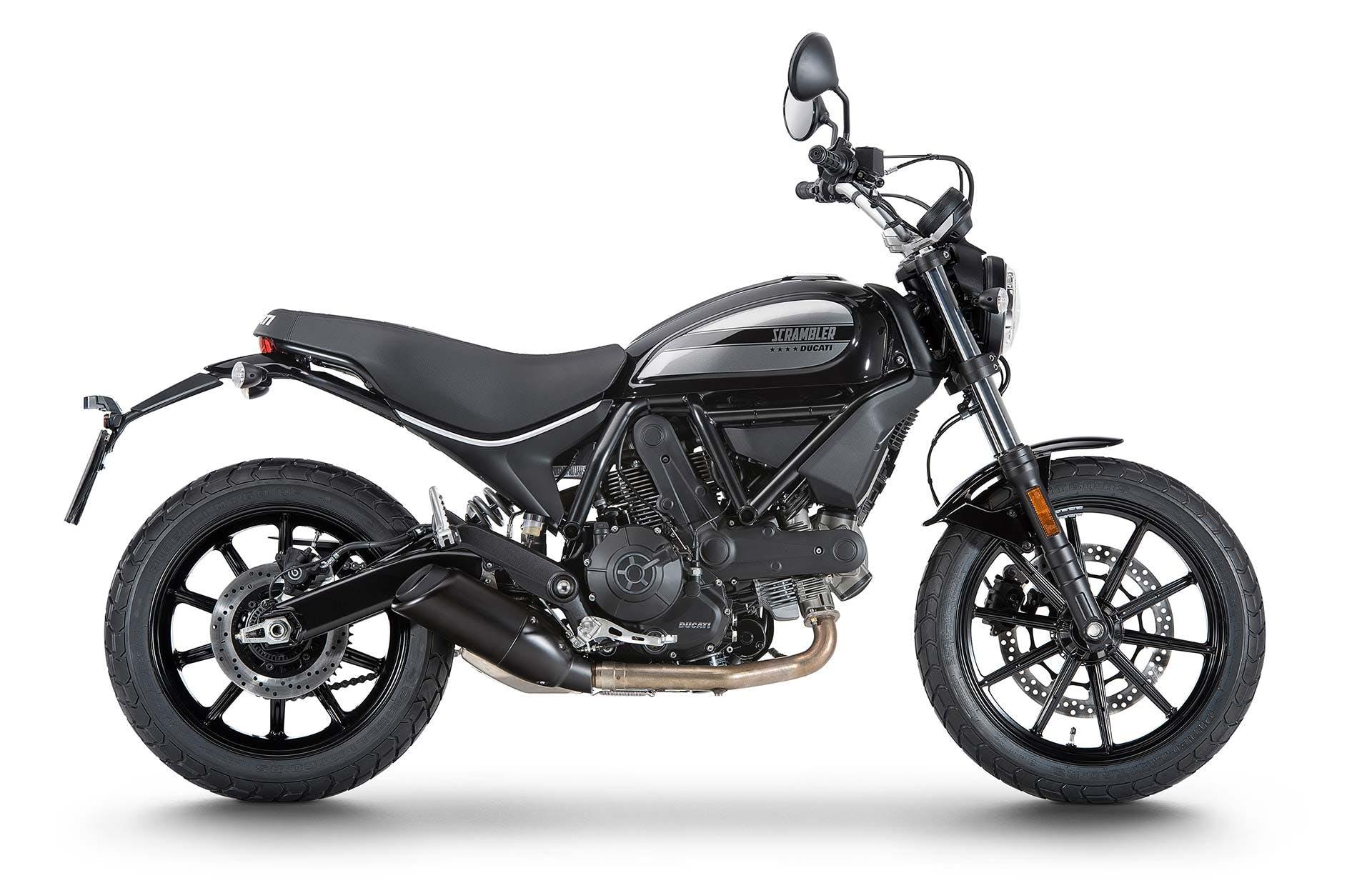 Ducati Scrambler Sixty2 nera moto per neopatentati A2