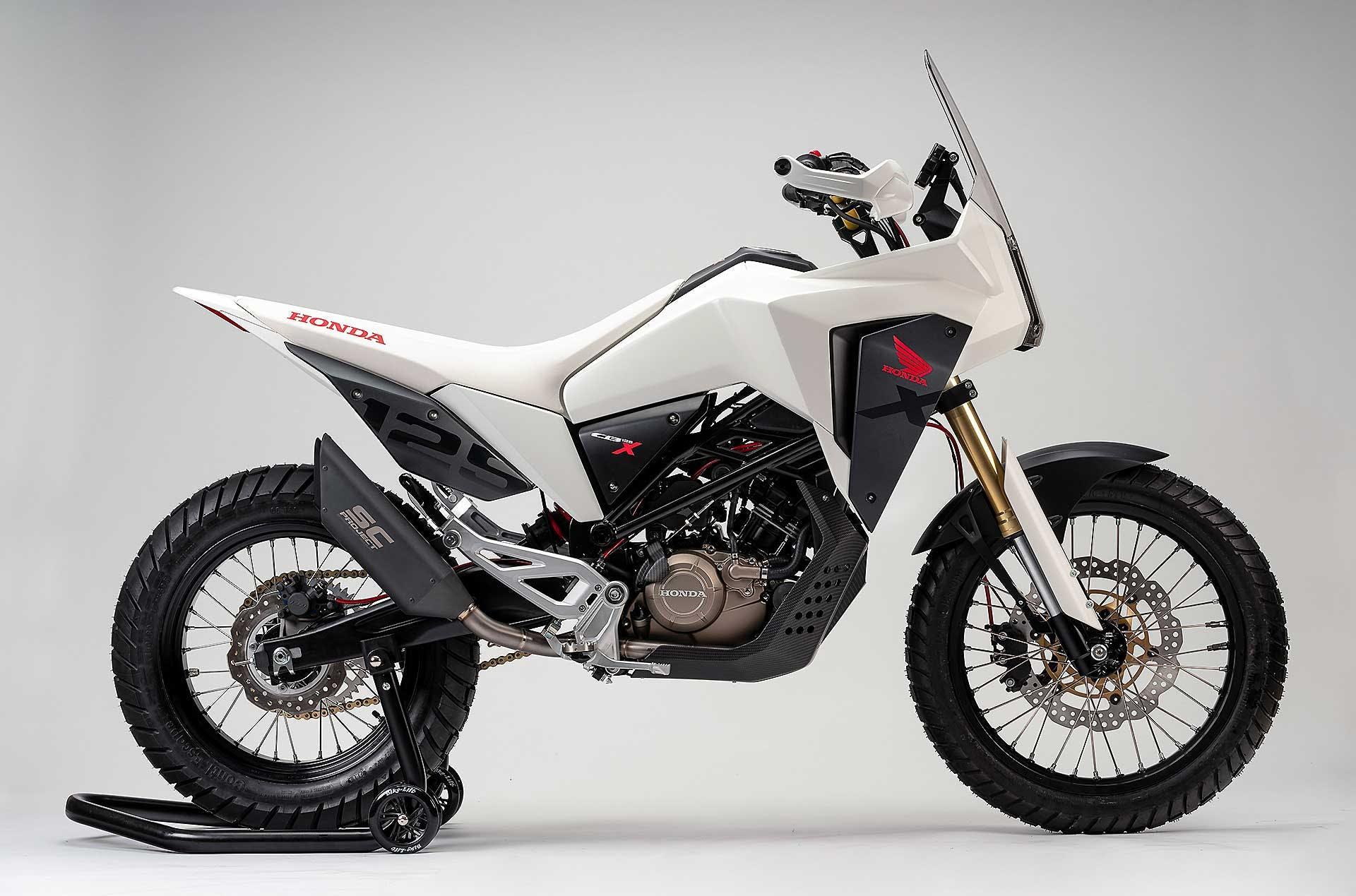 Honda CB125X- prototipo - migliori moto 125