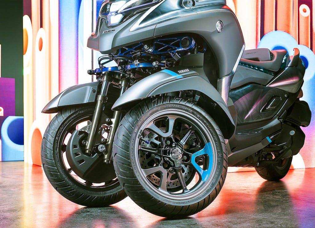 Yamaha 3CT, il tre ruote di mezzo