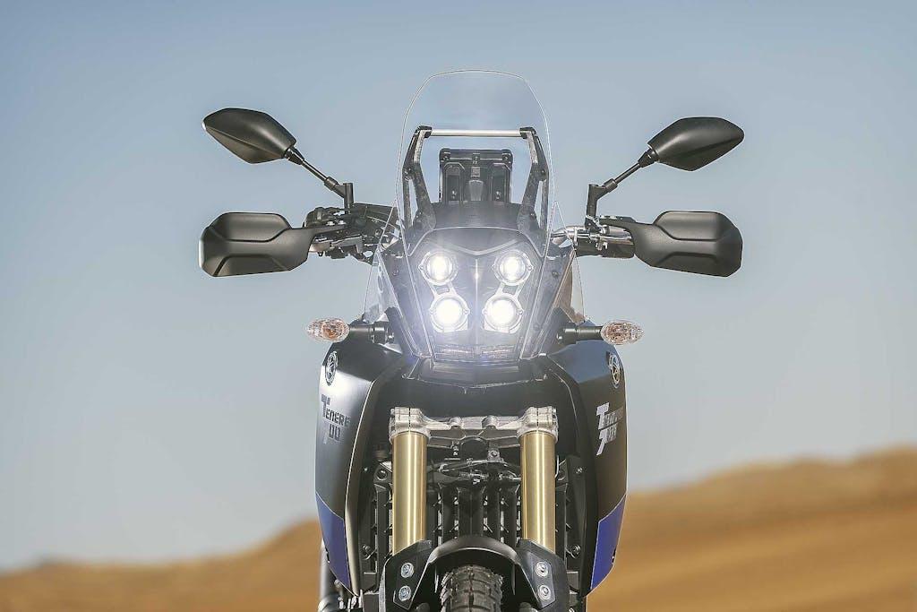 Yamaha Ténéré 700, mastica la terra