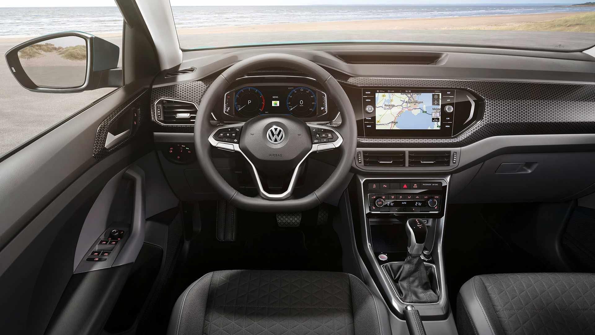 Volkswagen T-Cross plancia