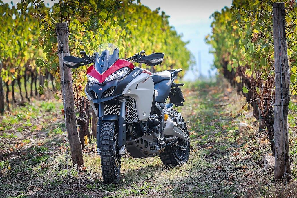 Prova Ducati Multistrada Enduro 1260