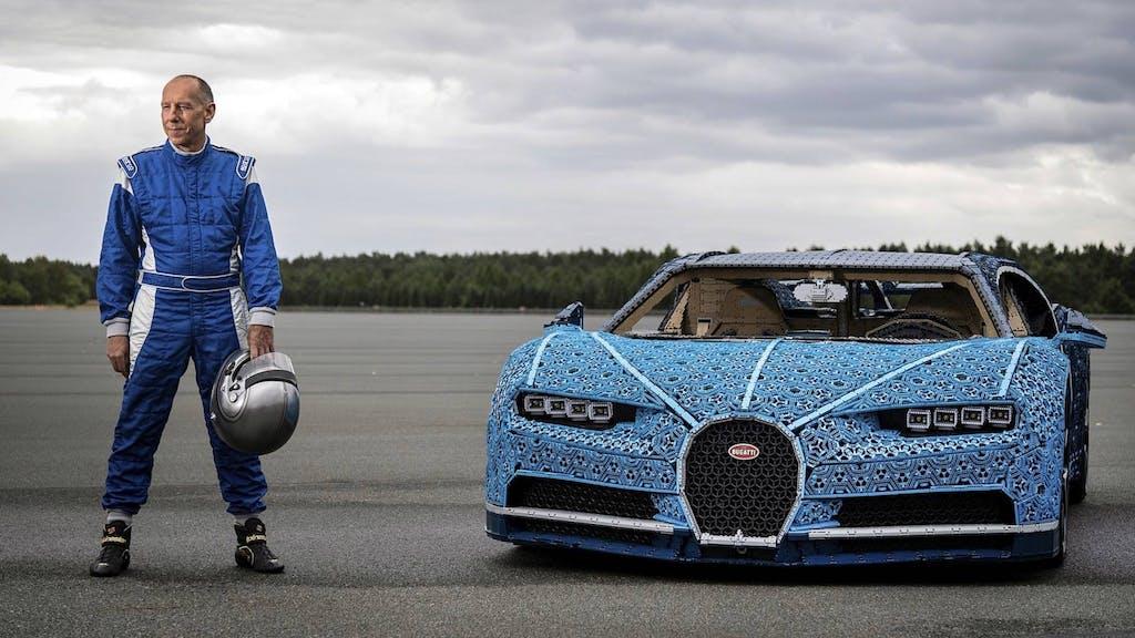Bugatti Chiron, la supercar di Lego che si può guidare