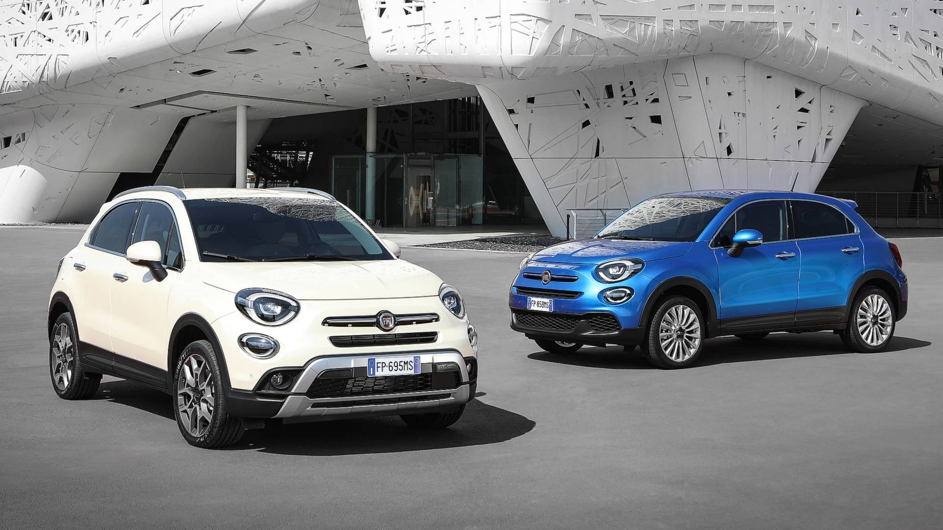 Fiat 500X restyling, coppia
