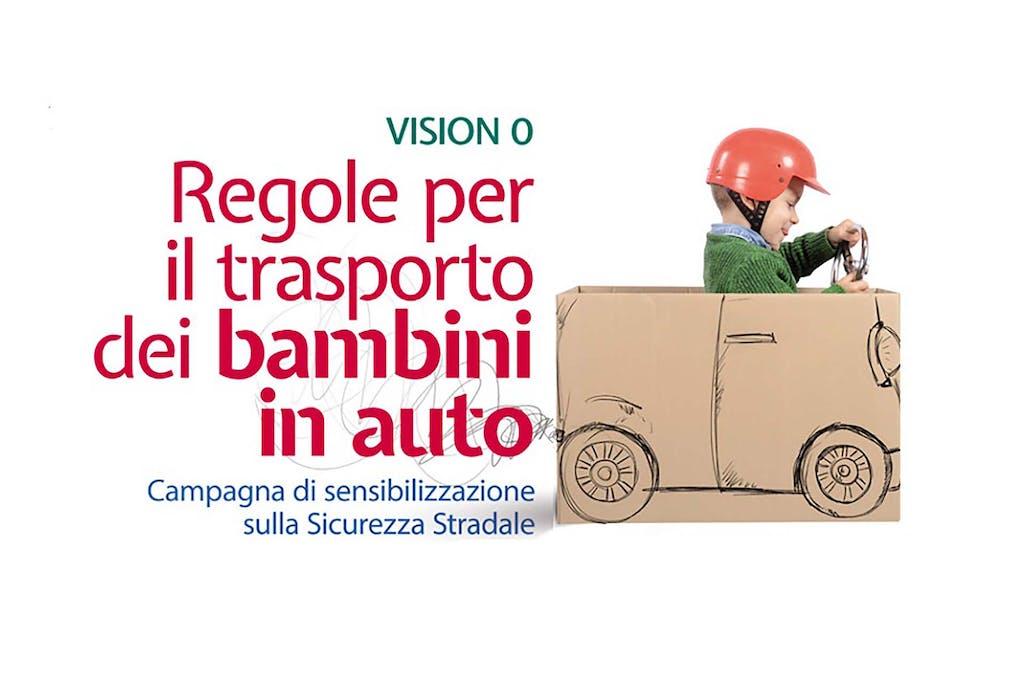 Bimbi in auto: vision zero per la sicurezza