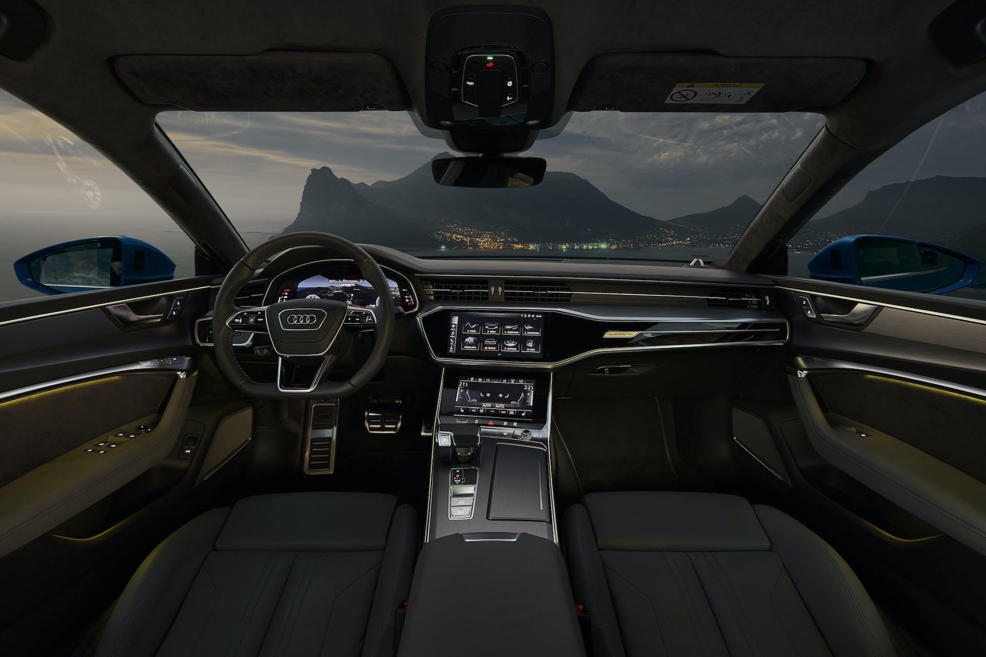 Audi A7 Sportback, interni