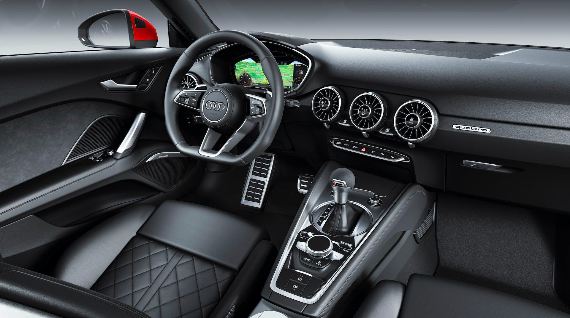 Audi TT Coupé 2018 plancia