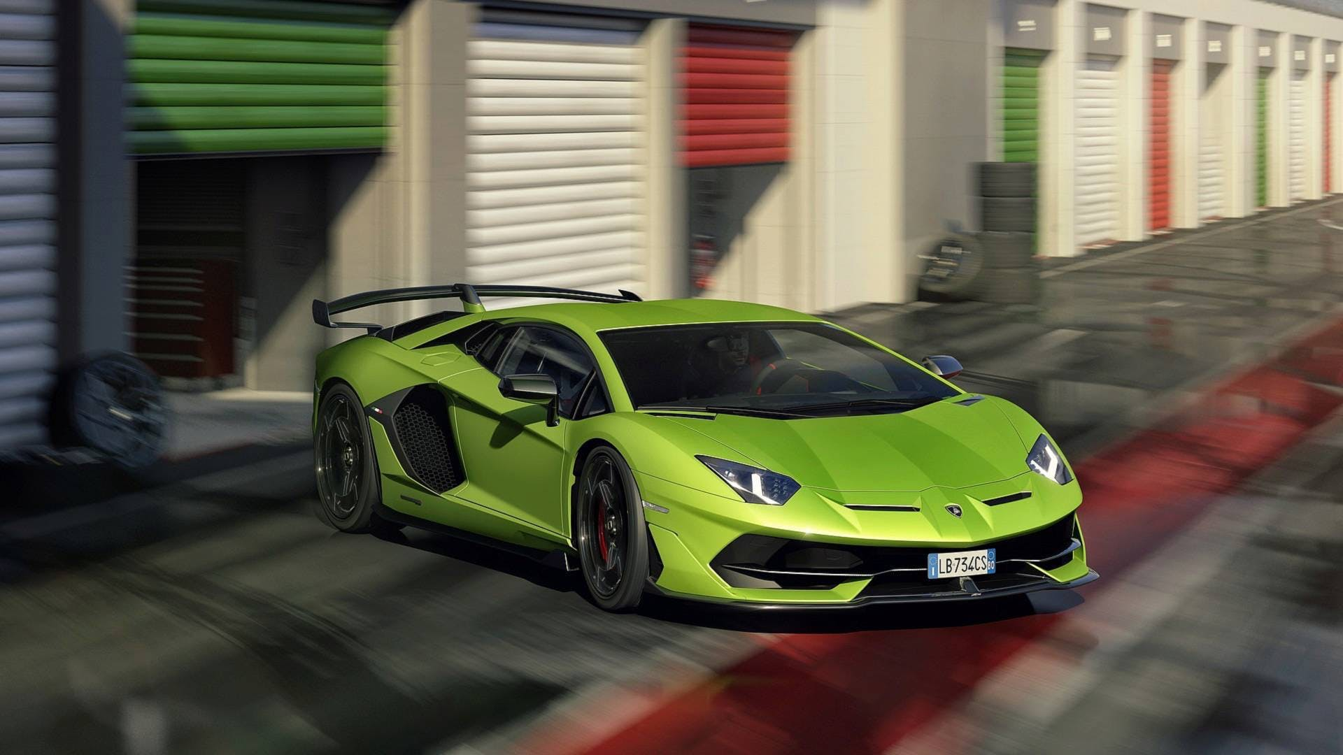 Lamborghini Aventador SVJ, 3/4 anteriore