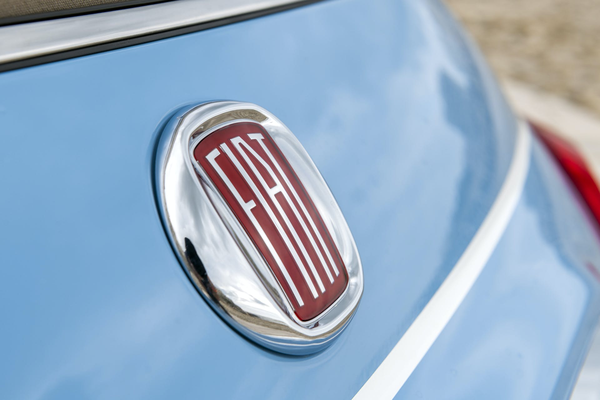 Fiat 500 Spiaggina '58 stemma vintage