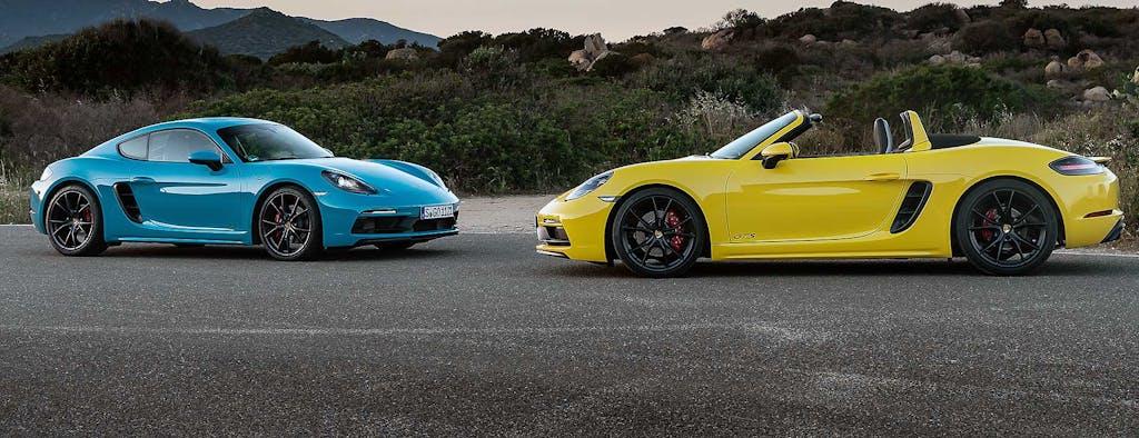 Prova Porsche 718 Boxster GTS e Cayman GTS