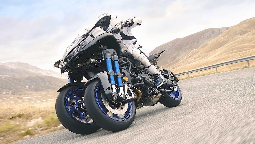 Yamaha Niken, scommessa a tre ruote