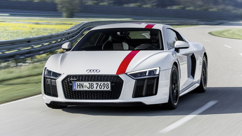 Audi R8 RWS: tutto alle spalle