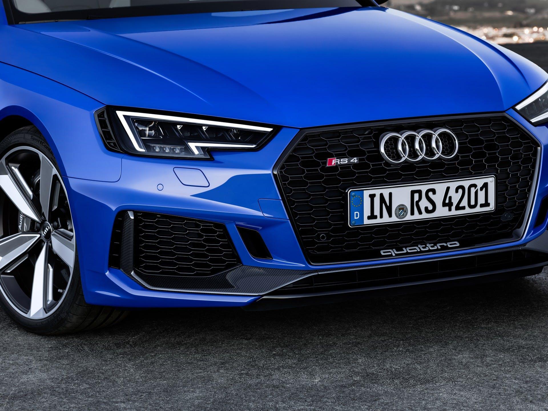 Audi RS4 Avant-dettaglio