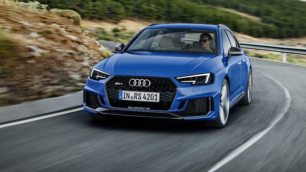 Audi RS4 Avant: la super wagon