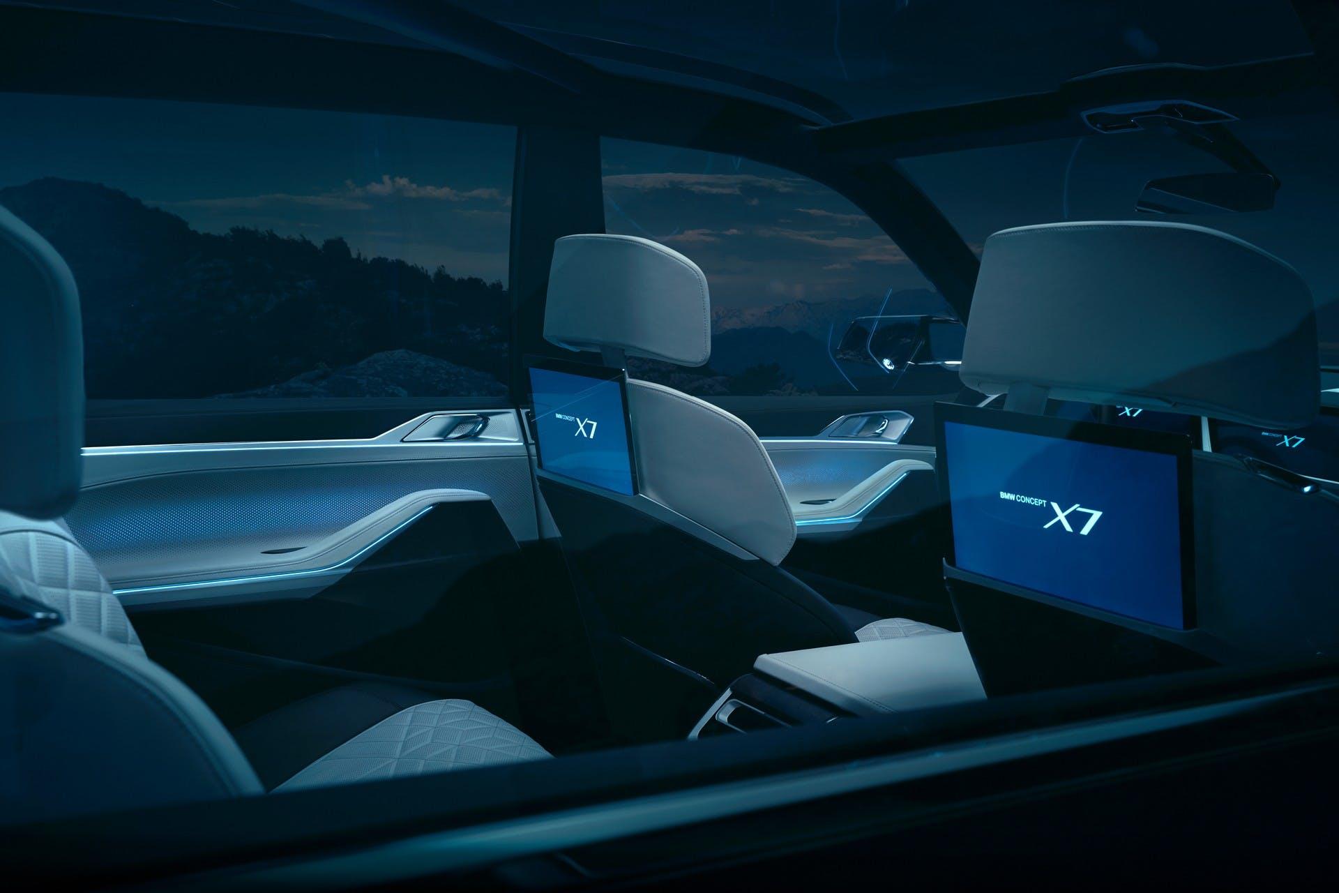BMW Concept X7 iPerformance interni