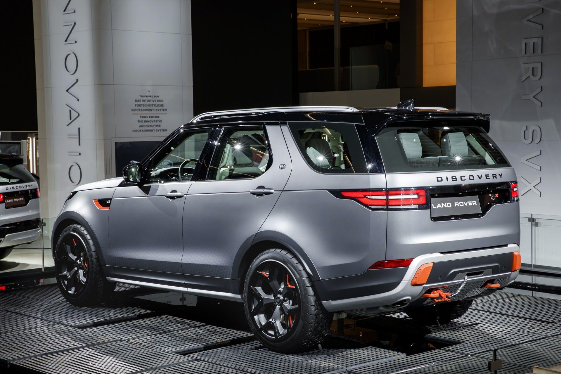 Land Rover Discovery SVX statica