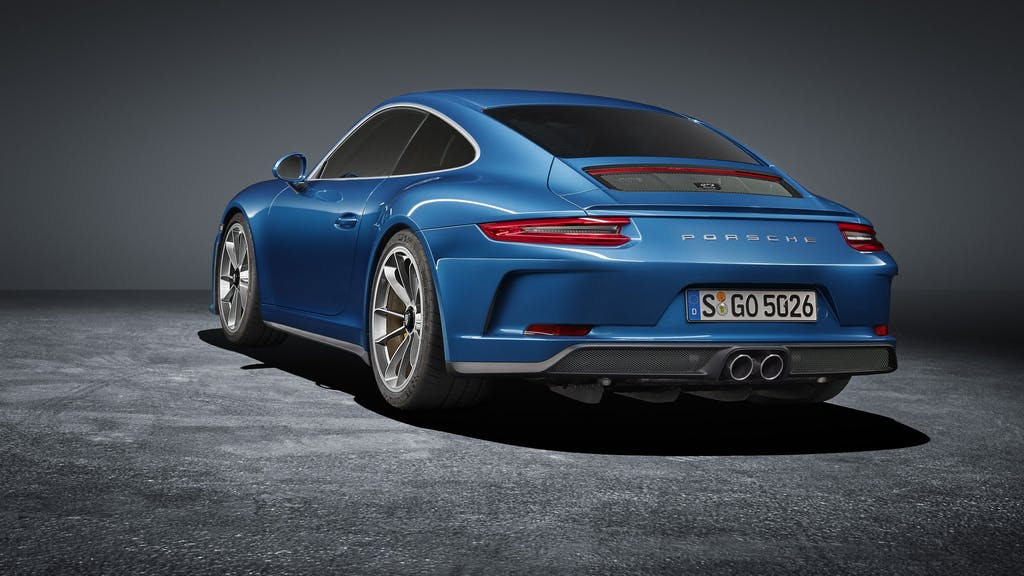 Porsche 911 GT3 Touring Package: solo manuale