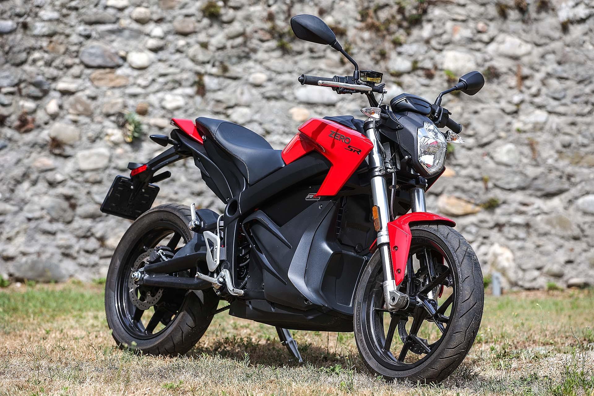 Zero Motorcycles SR - 3/4 anteriore
