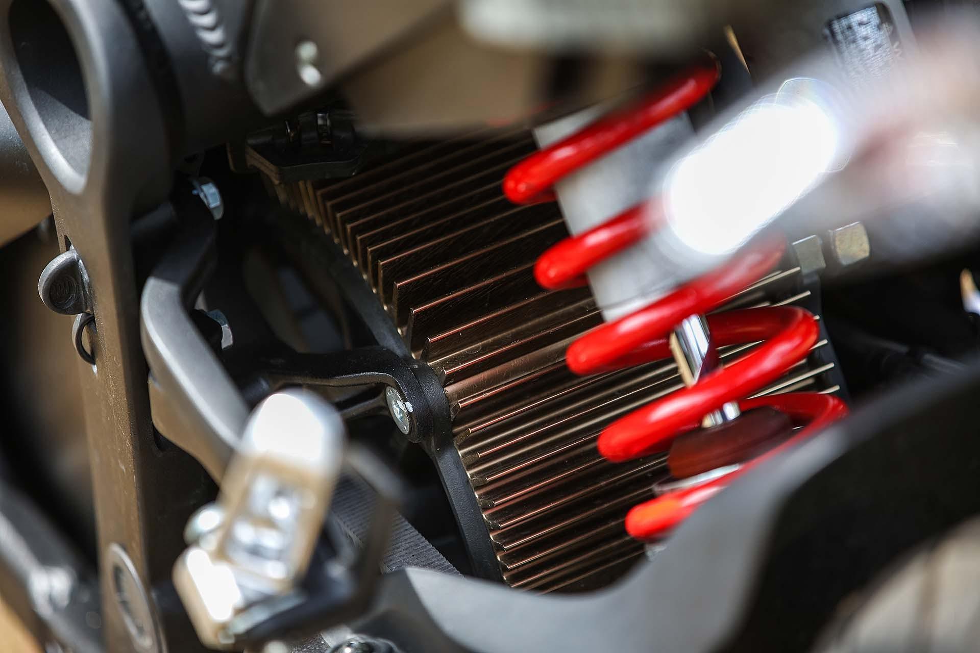 Zero Motorcycles SR - cinghia
