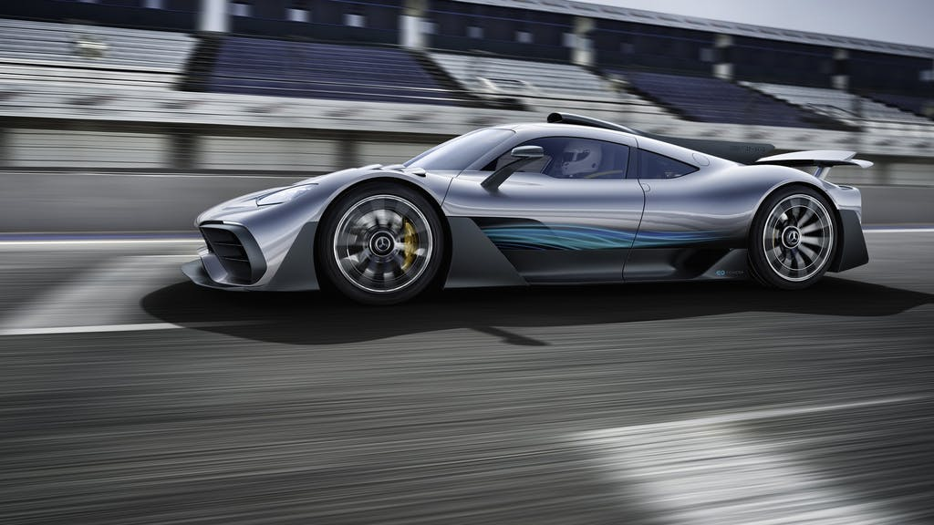 Mercedes-AMG Project One: la Formula 1 con la targa