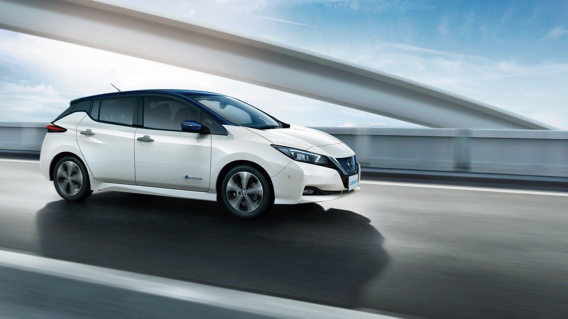 Nissan Leaf 2018 dinamica