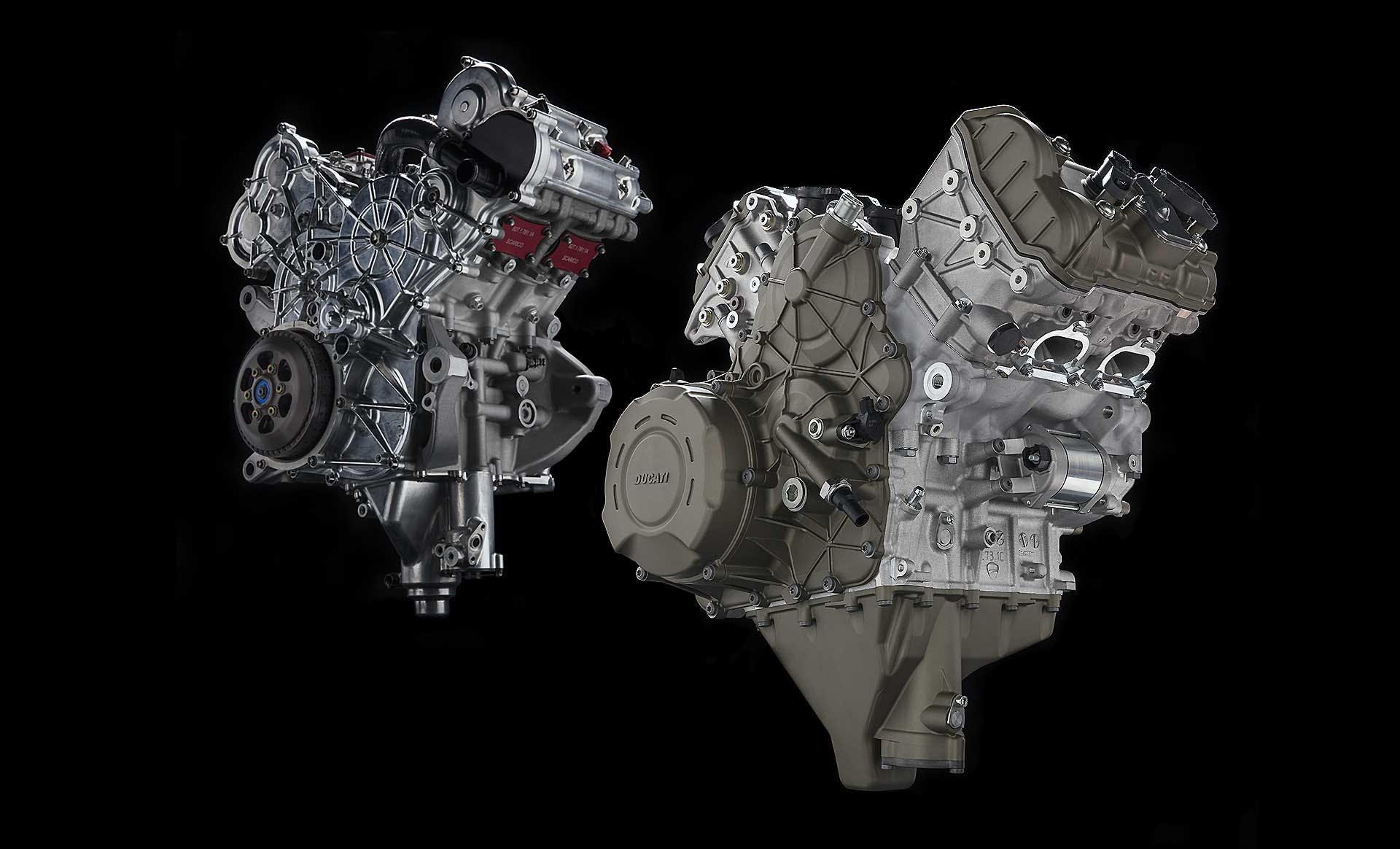 Motore Ducati Desmosedici Stradale
