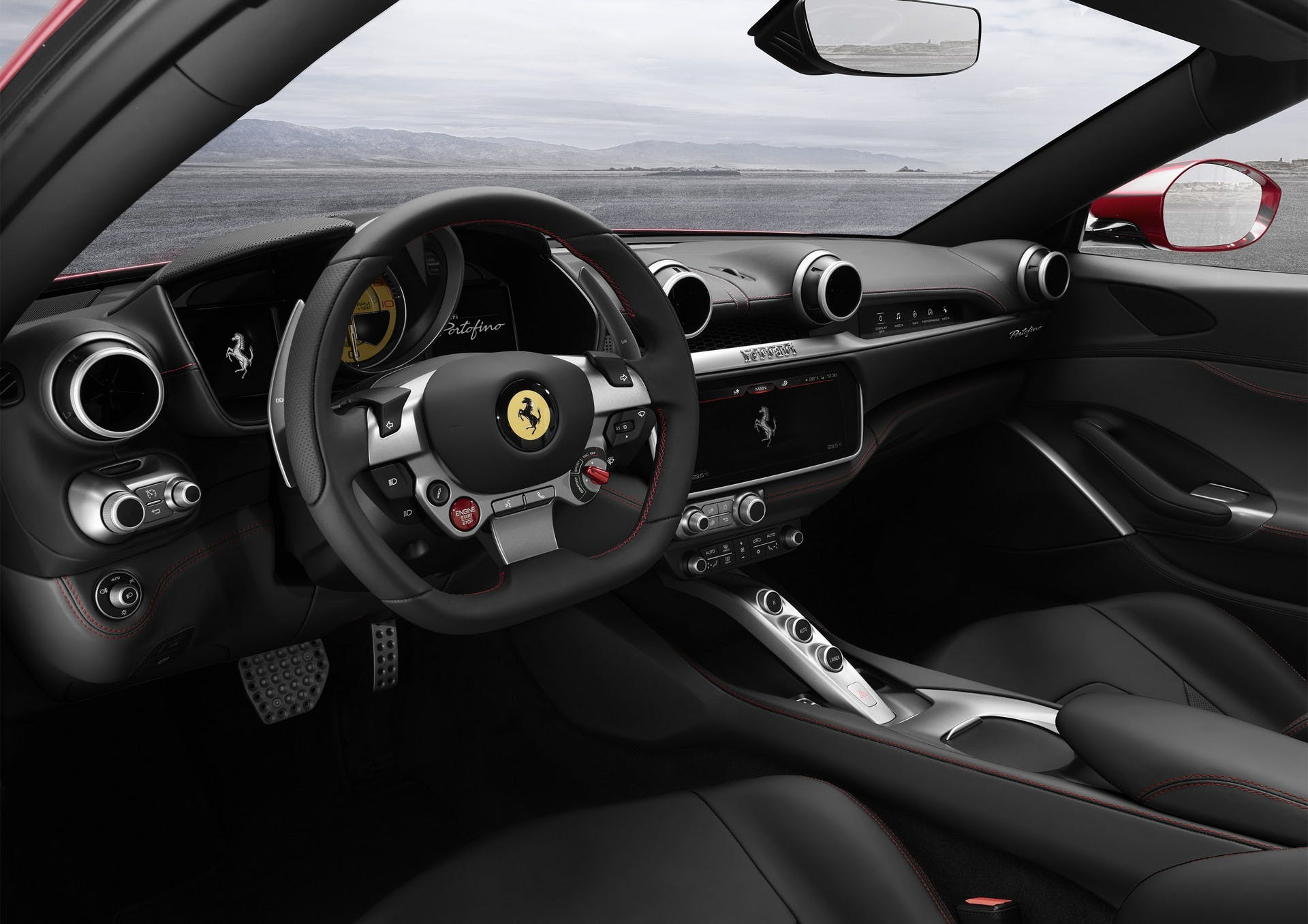 Ferrari Portofino interni