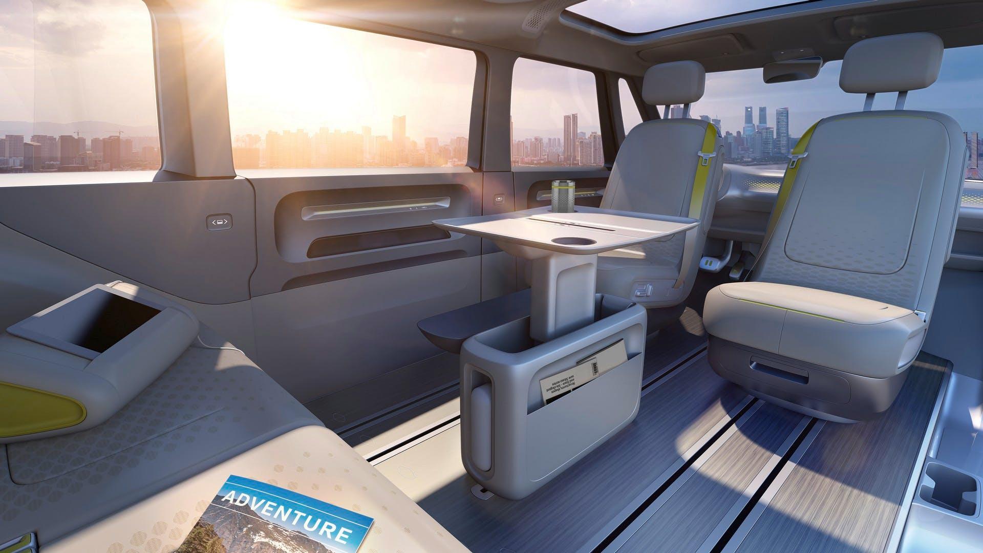 Volkswagen Bulli Concept interni