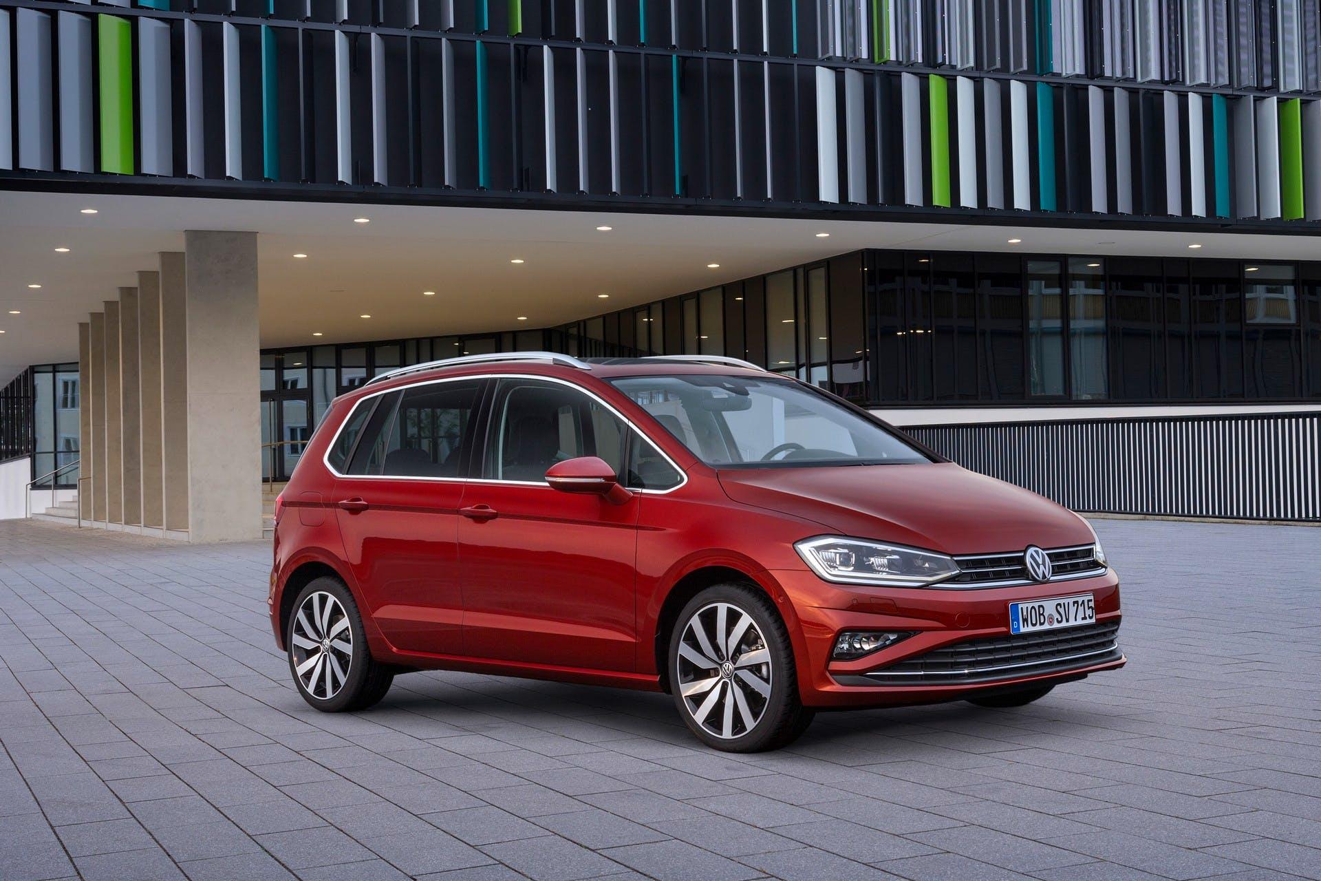 Volkswagen Golf Sportsvan 2018 statica