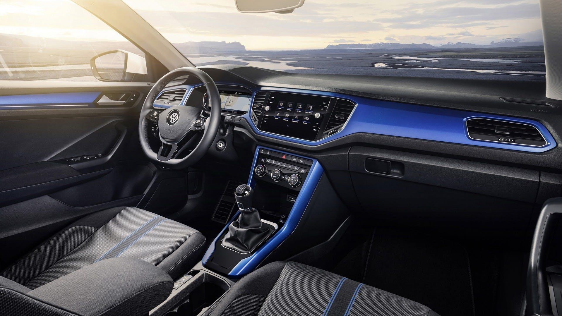 Volkswagen T-Roc interni
