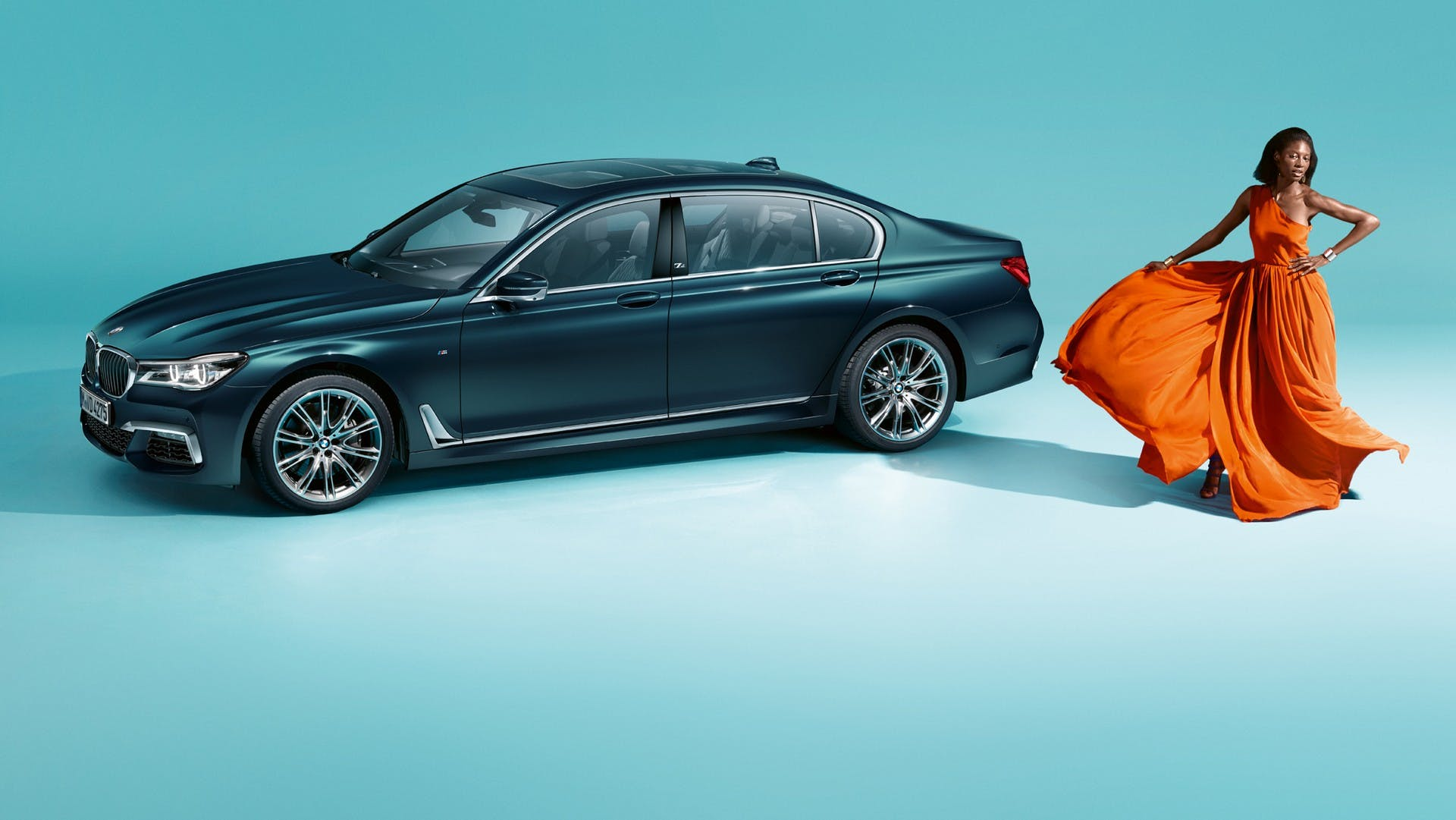 BMW Serie 7 40 Years Edition statica