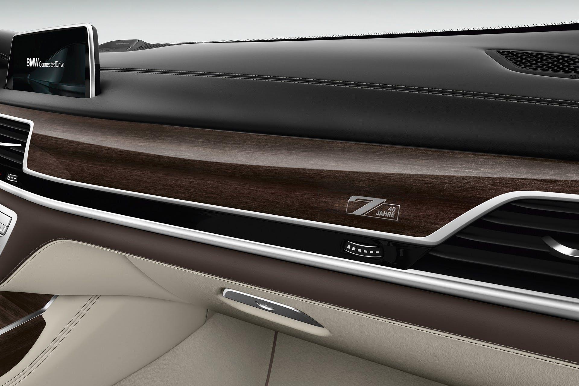 BMW Serie 7 40 Years Edition interni