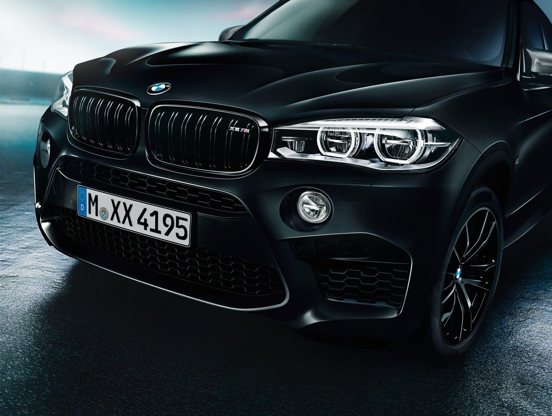 BMW X5 X6 M Black Fire Edition dettaglio