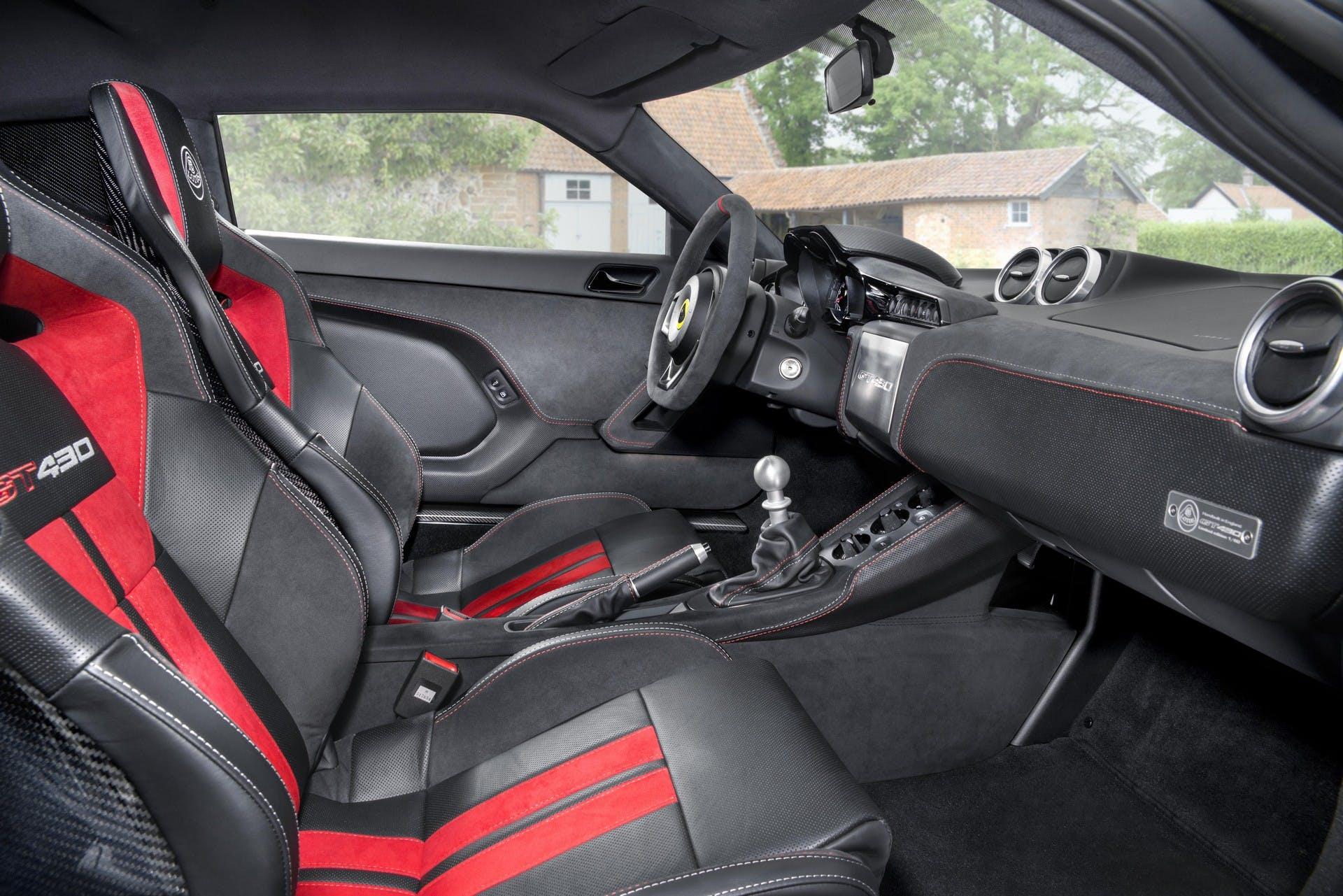 Lotus Evora GT430 interni