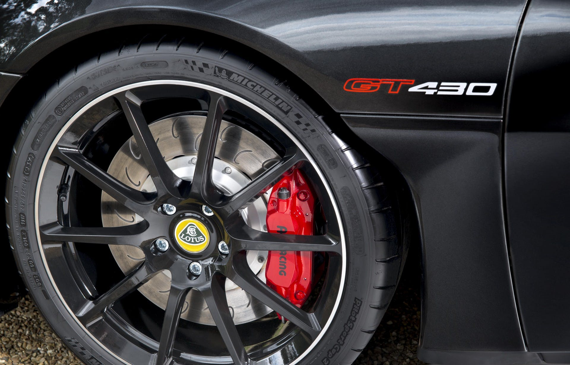Lotus Evora GT430 dettaglio