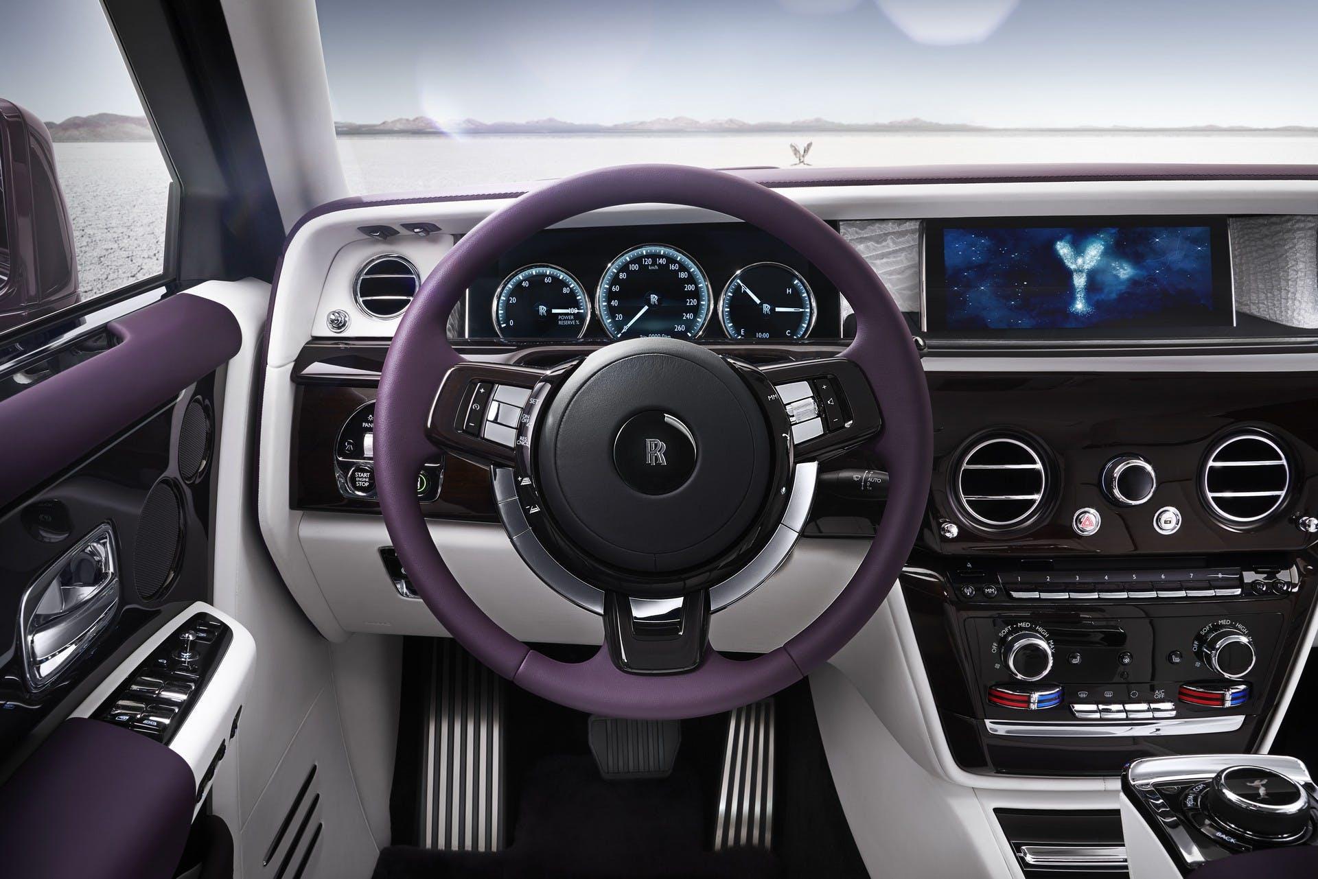 Rolls-Royce Phantom interni