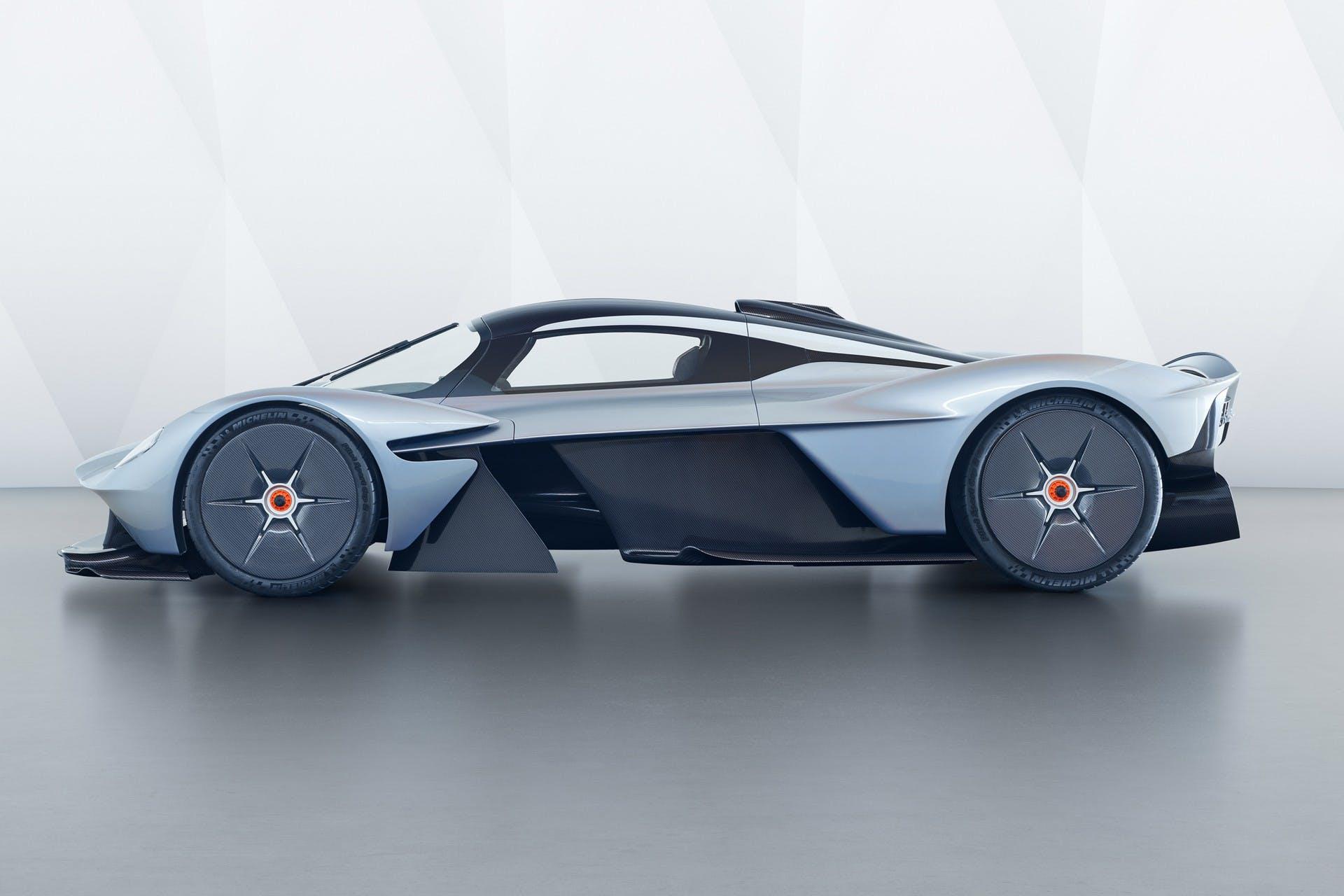 Aston Martin Valkyrie statica