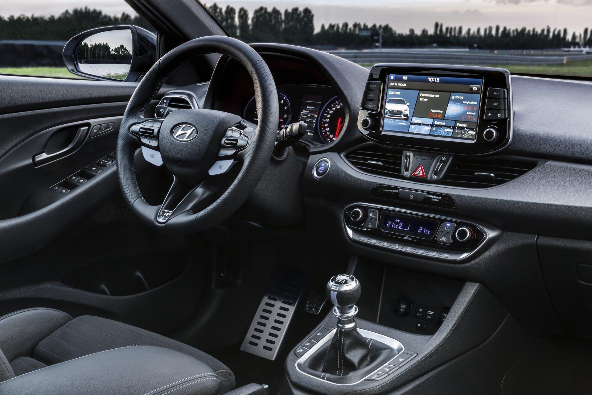 Hyundai i30 N interni