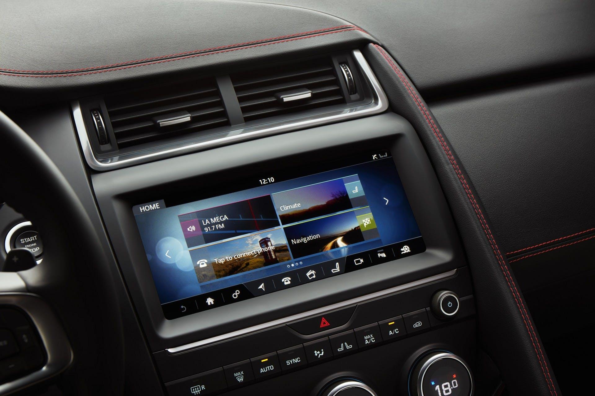 Jaguar E-Pace interni