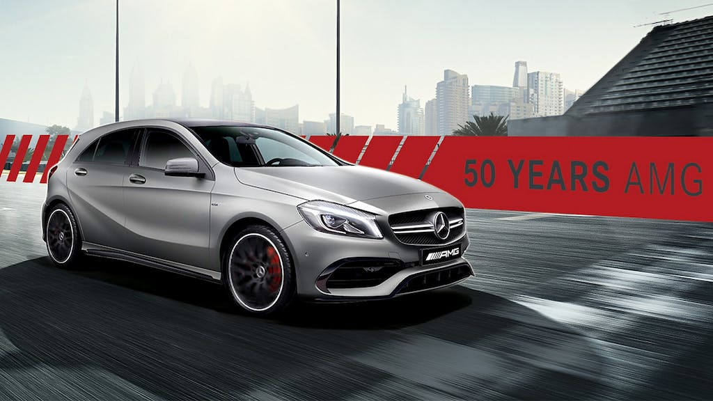 Mercedes-AMG A 45 Edition 50: happy birthday