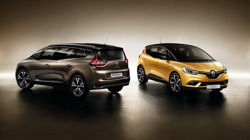 Renault Scénic Hybrid Assist: la prima volta della Régie