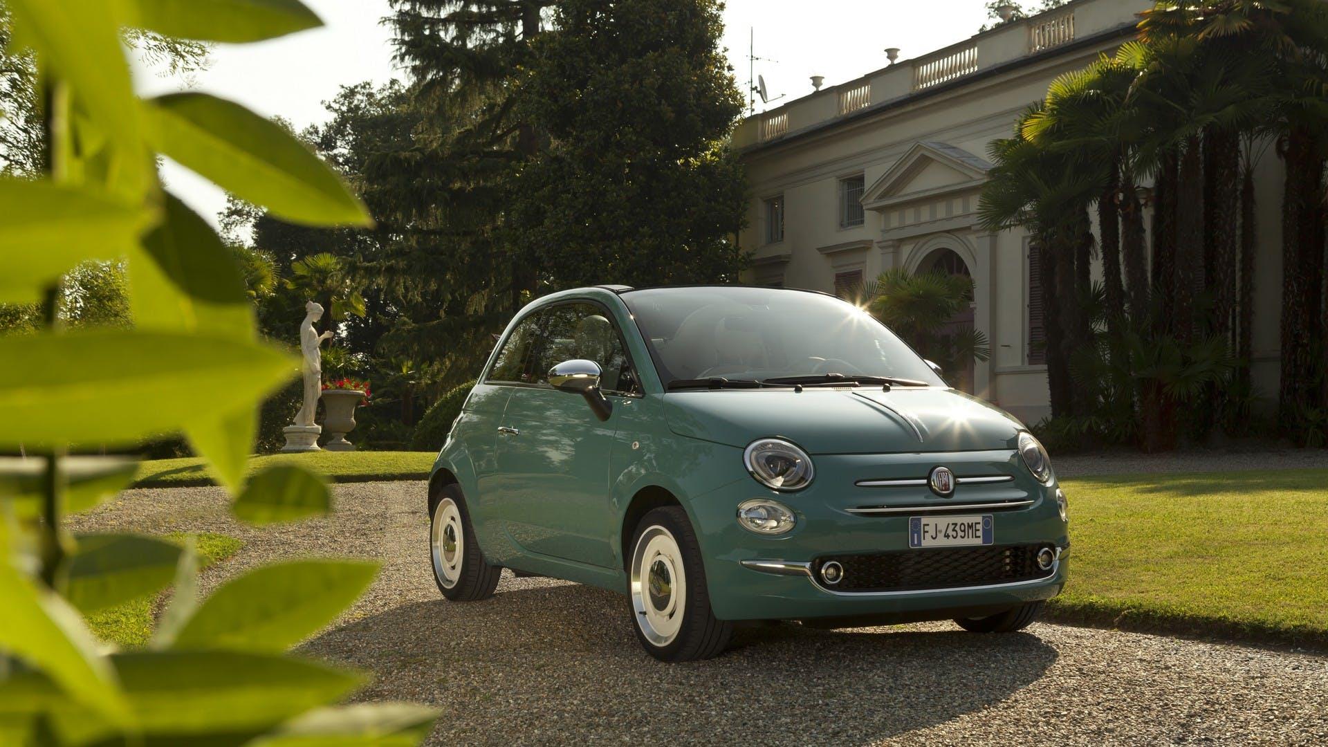 Fiat 500 Anniversario statica