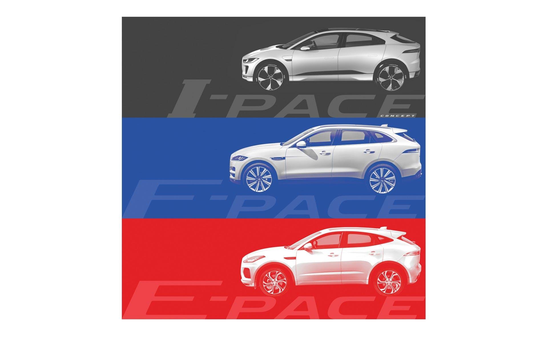 Jaguar E-Pace disegno