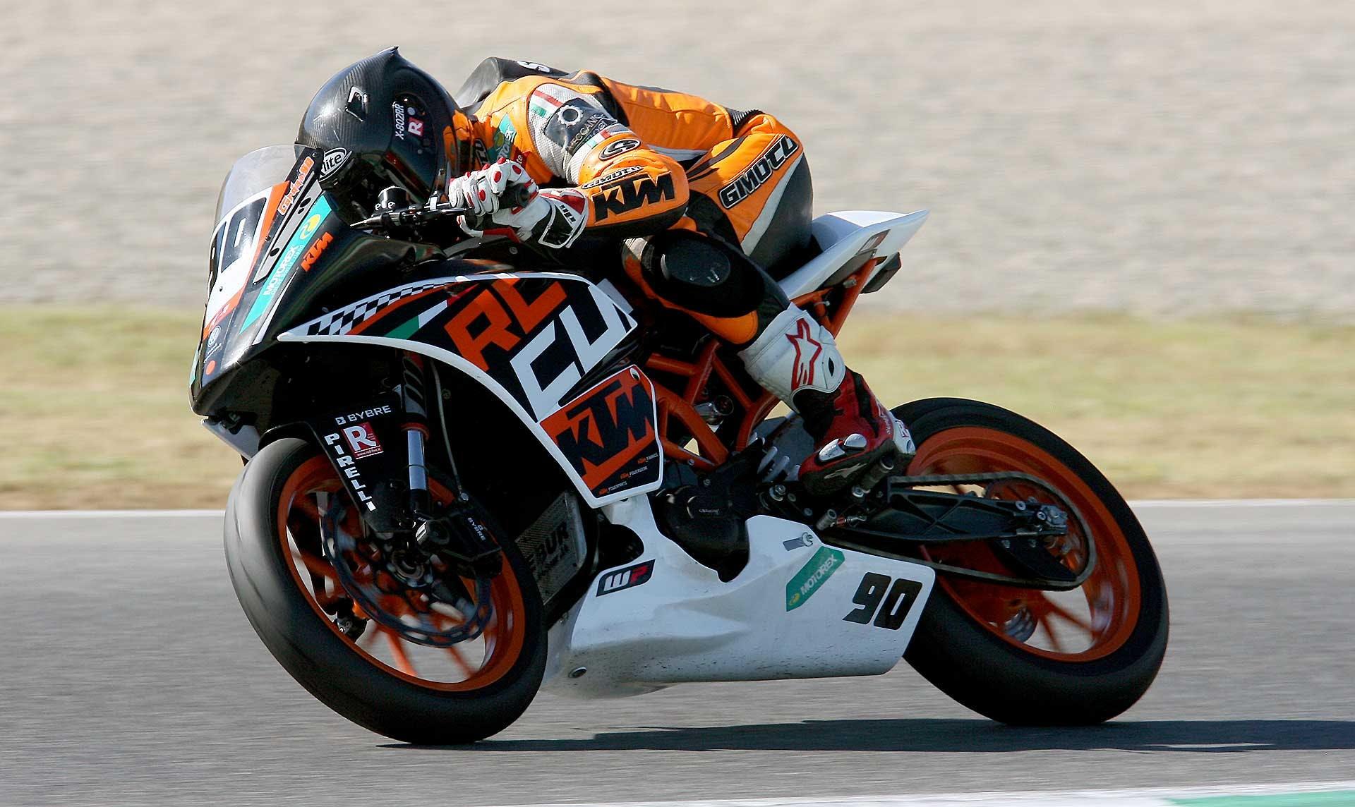 KTM RC390 Cup Mugello azione