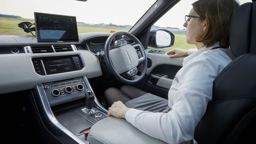 Range Rover Sport Autonomous Urban Drive: ci penso io