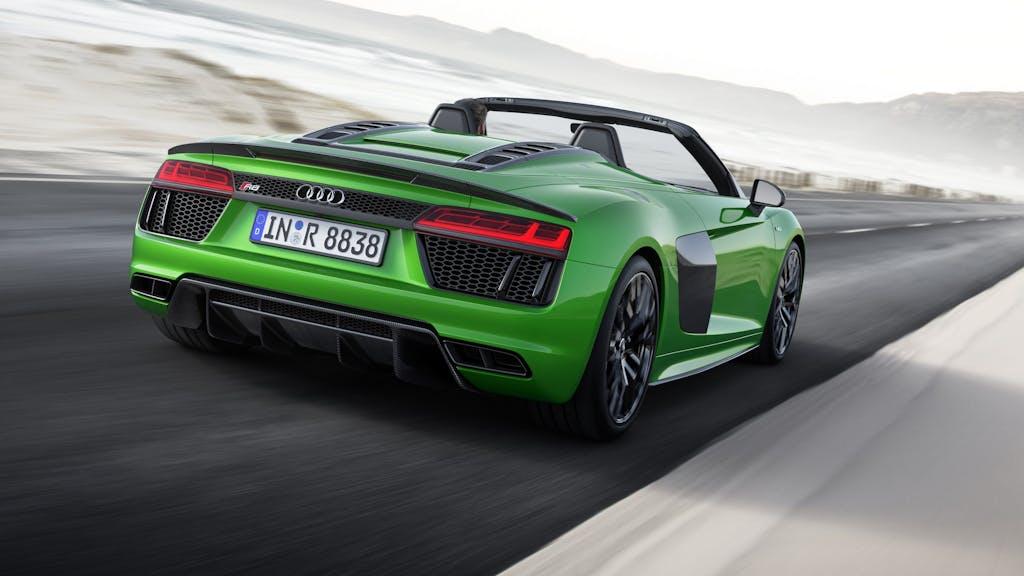 Audi R8 Spyder 5.2 V10 Plus: la scoperta più veloce