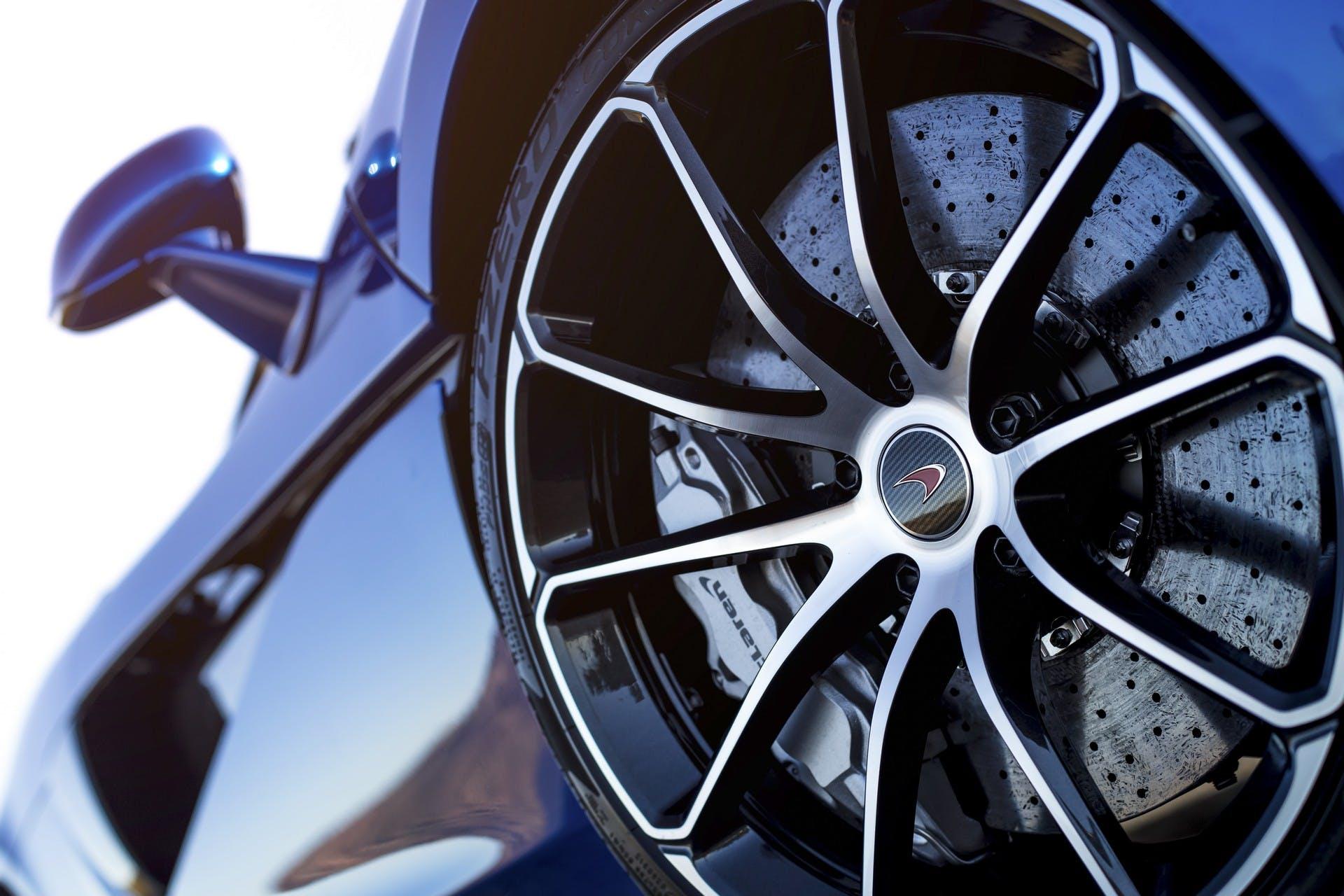 McLaren 570S Spider dettaglio